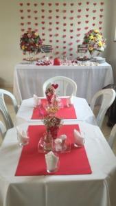 decoração de casamento com TNT