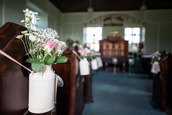 decoração de casamento rustico simples