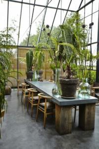 7ª - Transforme sua sala de jantar em um gramado de inverno