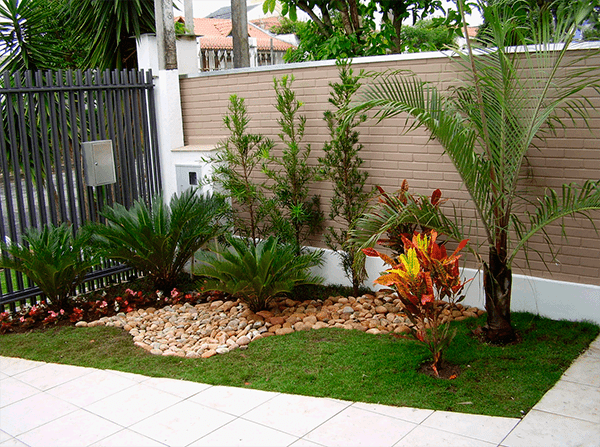 ideias decoração de jardim pequeno e simples