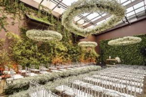 Decoração de casamento verde