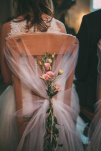 Decoração simples para casamento