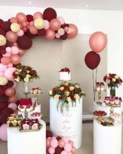 decoração de aniversário feminino