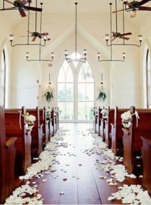 decoração simples de casamento civil